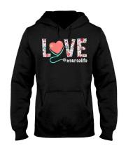 Love Floral Tropical Nurse Life T-shirt Hooded Sweatshirt thumbnail