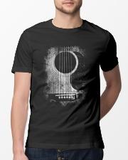 Guitar art design for guitar lover Classic T-Shirt lifestyle-mens-crewneck-front-13