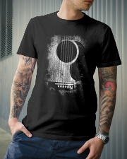 Guitar art design for guitar lover Classic T-Shirt lifestyle-mens-crewneck-front-6