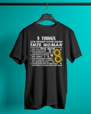 5 Things You Should Know About This Woman Classic T-Shirt lifestyle-mens-crewneck-front-3