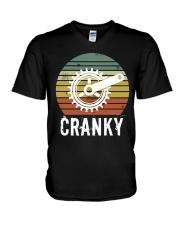 Cranky V-Neck T-Shirt thumbnail