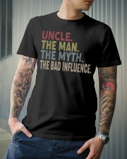 PERFECT DESIGN FOR UNCLE Classic T-Shirt lifestyle-mens-crewneck-front-6