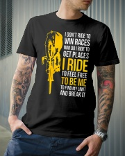 I ride to be me Classic T-Shirt lifestyle-mens-crewneck-front-6