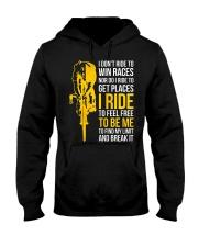 I ride to be me Hooded Sweatshirt thumbnail