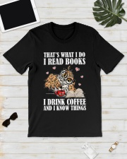 That's What I Do I Read Books I Drink Coffee Classic T-Shirt lifestyle-mens-crewneck-front-17