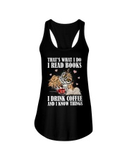 That's What I Do I Read Books I Drink Coffee Ladies Flowy Tank thumbnail