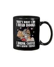 That's What I Do I Read Books I Drink Coffee Mug thumbnail