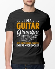 Im a grandpa guitar Classic T-Shirt lifestyle-mens-crewneck-front-13