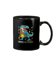 Dinosaur Puzzle Piece Autism Awareness Mug thumbnail