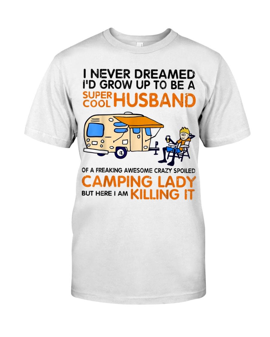 Super cool husband of camping lady Classic T-Shirt