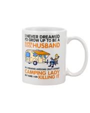 Super cool husband of camping lady Mug thumbnail