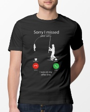 I Was On My Other Line Classic T-Shirt lifestyle-mens-crewneck-front-13