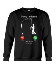I Was On My Other Line Crewneck Sweatshirt thumbnail