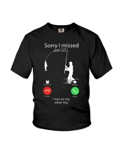 I Was On My Other Line Youth T-Shirt thumbnail