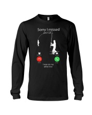 I Was On My Other Line Long Sleeve Tee thumbnail