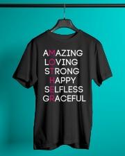 Proud Mother design Classic T-Shirt lifestyle-mens-crewneck-front-3