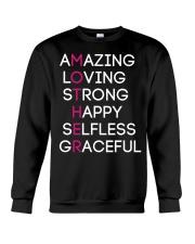 Proud Mother design Crewneck Sweatshirt thumbnail