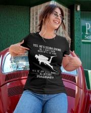 Yes He's Scuba Diving Ladies T-Shirt apparel-ladies-t-shirt-lifestyle-01