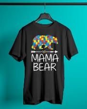 Autism Mama Bear design Classic T-Shirt lifestyle-mens-crewneck-front-3