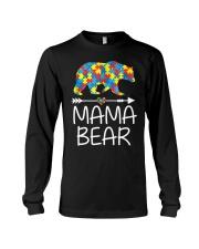 Autism Mama Bear design Long Sleeve Tee thumbnail