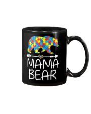 Autism Mama Bear design Mug thumbnail