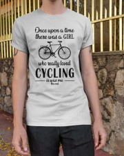 There Was A Girl Who Really Loved Cycling Classic T-Shirt apparel-classic-tshirt-lifestyle-21