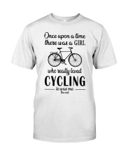 There Was A Girl Who Really Loved Cycling Classic T-Shirt front