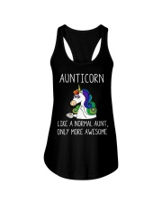 Aunticorn Ladies Flowy Tank thumbnail