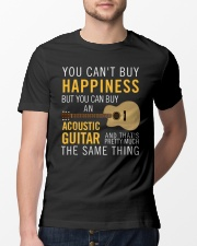 Guitar and happiness are the same thing Classic T-Shirt lifestyle-mens-crewneck-front-13