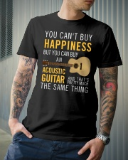 Guitar and happiness are the same thing Classic T-Shirt lifestyle-mens-crewneck-front-6