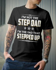 I'm Not The Step Dad I'm The Dad That Stepped Up Classic T-Shirt lifestyle-mens-crewneck-front-6