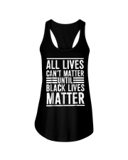 All Lives Can't Matter Ladies Flowy Tank thumbnail