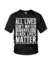 All Lives Can't Matter Youth T-Shirt thumbnail