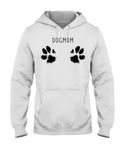 Dog Mom Hooded Sweatshirt front