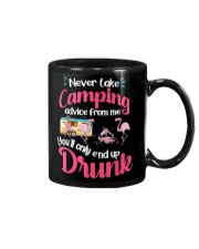 Never Take Camping Advice From Me Mug thumbnail