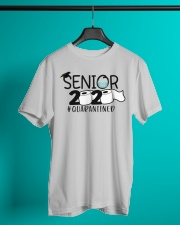 Senior 2020 Quarantined T-shirt Classic T-Shirt lifestyle-mens-crewneck-front-3