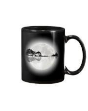 Guitar moon lake shadow Mug front