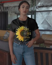 Be a sunflower Classic T-Shirt apparel-classic-tshirt-lifestyle-05