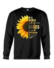 Be a sunflower Crewneck Sweatshirt thumbnail