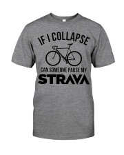If I Collapse - Funny Shirt For Cycling Lover Classic T-Shirt front