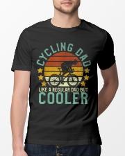 Vintage cycling dad design Classic T-Shirt lifestyle-mens-crewneck-front-13
