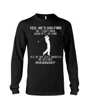 Yes He's Golfing Long Sleeve Tee thumbnail