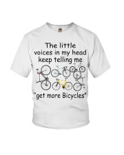 The voices in my head telling me get more bicyles Youth T-Shirt thumbnail