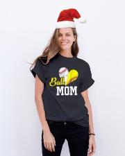 Baseball Mom Classic T-Shirt lifestyle-holiday-crewneck-front-1