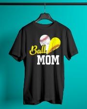 Baseball Mom Classic T-Shirt lifestyle-mens-crewneck-front-3