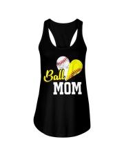 Baseball Mom Ladies Flowy Tank thumbnail