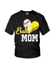 Baseball Mom Youth T-Shirt thumbnail