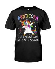AUNTICORN Classic T-Shirt front