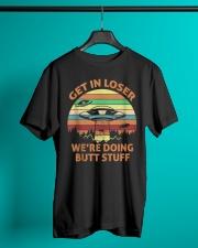 We're Doing Butt Stuff Classic T-Shirt lifestyle-mens-crewneck-front-3