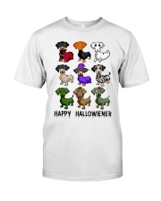 Happy Hallowiener Classic T-Shirt front